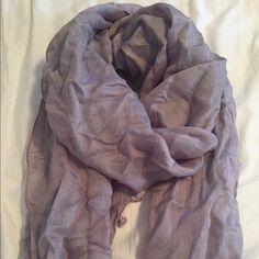 Jcrew linen scarf Jcrew linen scarf in grey J. Crew Accessories Scarves & Wraps