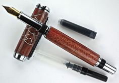 Handcrafted Wooden Pen Hand Turned Fountain by MikesPenTurningZ, $109.00