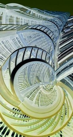 Stunning depictions of Staircases - Part 2