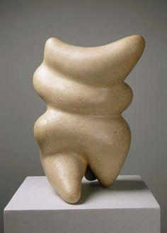 """Torso Preadamite"" by Jean Arp (1886-1966) via Wikipaintings."