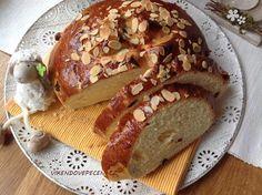 Velikonoční mazanec Easter Recipes, Cheesecake, Pizza, Sweets, Bread, Baking, Cupcakes, Food, Cupcake Cakes