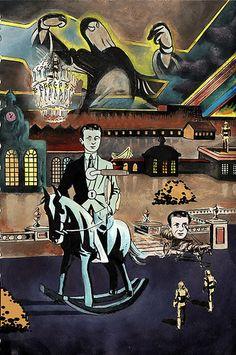 Art By Tristan Tzara | Tristan Tzara Paintings Action Painting, Painting & Drawing, Raoul Hausmann, John Heartfield, Dada Collage, Hans Richter, Dada Movement, Tristan Tzara, Hans Arp