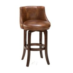 Napa Valley Cherry Swivel Bar Stool Hillsdale Furniture Bar Height (28 To 36 Inch) Bar Sto