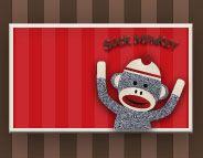 Check out this @Evite invitation design, Sock Monkey!