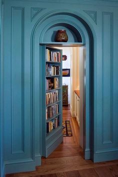 Secret rooms will be a must in my dream house. And I'll never tell the kids and … - Versteckte Räume Design Entrée, House Design, Design Ideas, Room Door Design, Design Bathroom, Design Studio, Bathroom Interior, Book Design, New Wall