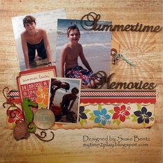 Summertime Memories - Scrapbook.com