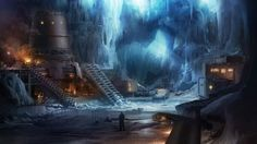 Ice Cave | Red Faction: Armageddon – Artwork | Game Fluid