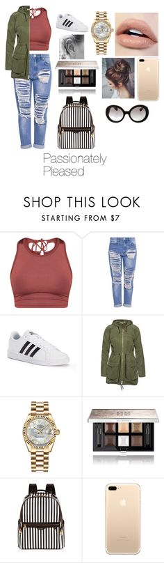 """Passionately Pleased"" by lydiagrayyoung on Polyvore featuring adidas, Wunderwerk, Rolex, Givenchy, Henri Bendel and Prada"