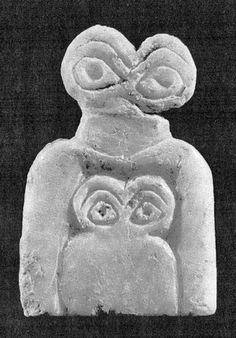 Eye Idol from The Temple of the Eyes, Tell Brak, Syria
