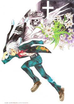 Katsura Hoshino, D Gray-Man, Noche - D.Gray-man Illustrations, Millenium Earl, Allen Walker