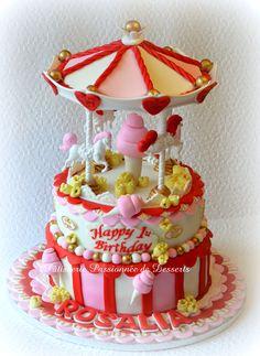 Carousel cake  Gâteau Carrousel