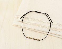 Simple Adjustable Friendship Bracelet  Minimalist by ShopAiraH