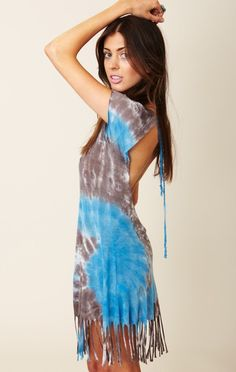 Blue Life Shag me Tunic $88 (feed the model) great  beach coverup