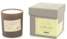 Literary candles