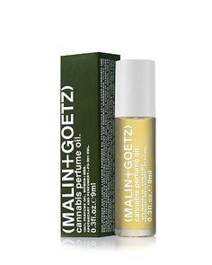 MALIN+GOETZ Cannabis Perfume Oil   Bloomingdale's Into gloss $50