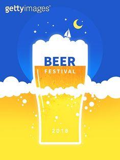 Summer Poster, Beer Festival, Book Layout, Festival Posters, Graphic Design Posters, Design Reference, Banner Design, Logo Design, Design Inspiration