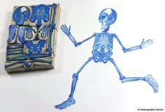 Le Grand Squelette - Le Tampographe Sardon