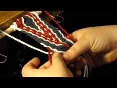 How to Finger Weave: A Quick Lesson in Basic Indian Braiding - YouTube
