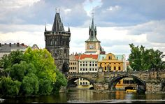 Prague, Czech Republic. My Great Grandparents were from Czechoslovakia, would love to go see it someday.