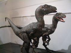Jurassic Park stop motion Velociraptors