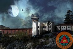 Buy Full Moon Over Hard Time San Quentin California State Prison by Wingsdomain Art and Photography fine art prints on museum quality photo paper, metal, or canvas. san francisco,california,bay area,bayarea,eastbay,east bay,san rafael,richmond,marin,marin county,moon,sky,ominous,halloween,spooky,surreal,surrealism,dark,fantasy,dream,dreamy,prison,prisons,jail,jails,state prison,state prisons,san quentin,sanquentin,san quintin state prison,san quenten,san quintin prison,san quintin…