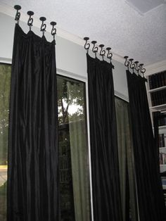 A simple, but elegant window treatment