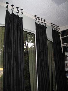 A simple, but elegant window treatment