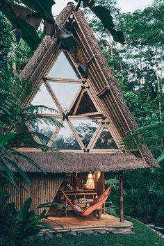 Eco bamboo house in Bali