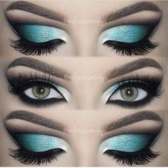 48 Best Stunning And Extraordinary Hottest Colourful Eye Makeup And Eye Shadow F. - - 48 Best Stunning And Extraordinary Hottest Colourful Eye Makeup And Eye Shadow For Prom And Party - Eye Makeup ♥*♡ 𝖘𝖙𝖚𝖓𝖓𝖎𝖓𝖌 𝖊𝖞𝖊 𝖒𝖆𝖐𝖊𝖚𝖕 ♥*♡ Party Eye Makeup, Eye Makeup Tips, Smokey Eye Makeup, Beauty Makeup, Smoky Eye, Makeup Eyes, Prom Makeup, Makeup Tricks, Hair Beauty
