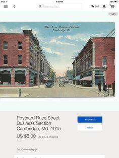 Old Cambridge Maryland