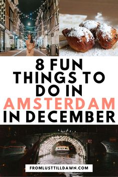 Looking For Things To Do In Amsterdam In December? What about The Amsterdam Light Festival, Christmas Markets And Sinterklaas Activities In Amsterdam? Look at This Local's Guide To Amsterdam In December Pin For Later Family Vacation Destinations, Europe Destinations, Amsterdam Christmas, Europe Travel Guide, Budget Travel, Travel Plan, Amsterdam Things To Do In, Amsterdam Travel, Christmas Markets