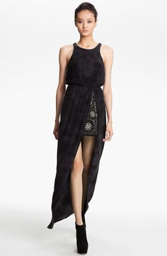 Gryphon Embellished Silk Maxi Dress