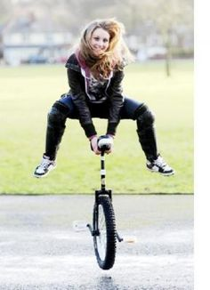 Unicycle+Racing | ... prepares to host first unicycle road race (From The Bolton News
