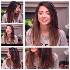 Wanna cut my hair like this  Zoella