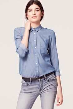 Denim At The Office? Yes, You Can! #refinery29