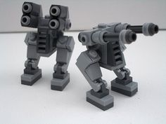 Super Punch: Micro-scale Lego mechs and building