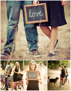 """Save the Date Idea? Instead of """"Love"""", maybe the wedding date? :D"""