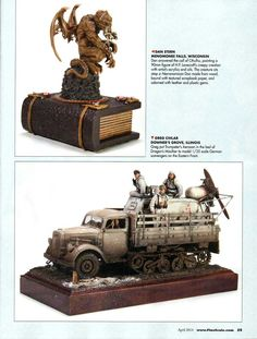 Featured in the April issue of Fine Scale Modeler