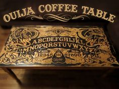 Ouija Coffee Table