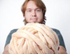 Chunky Yarn. 1 LB / 450 gr / 72 colors / 19 micr. Giant Knitted Wool. Big Yarn. Grande Punto. Big stitch yarn by woolWow!