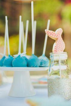 Pastel Mermaid Party with Such Cute Ideas via Kara's Party Ideas | KarasPartyIdeas.com #Mermaids #UnderThe Sea #PartyIdeas #Supplies (11)