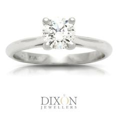 Classic Diamond Solitaire Engagement Ring in Platinum Solitaire Engagement, Jewels, Classic, Derby, Jewerly, Classic Books, Gemstones, Fine Jewelry, Gem