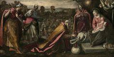 名古屋ボストン美術館 「ボストン美術館 ヴェネツィア展」3mものドメニコ・ティントレット《東方三博士の礼拝》1600-10年頃 Herbert James Pratt Fund 26.142 Photographs ©2015 Museum of Fine Arts, Boston.