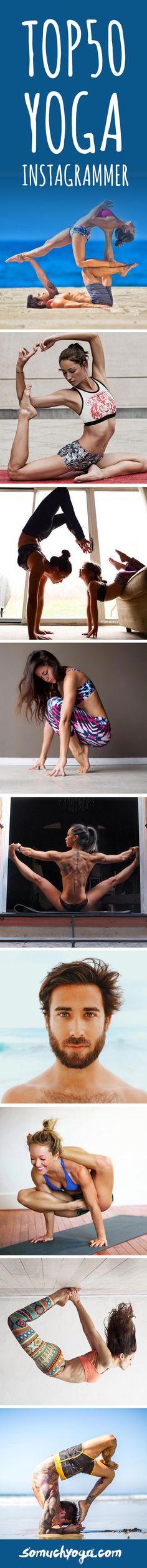 TOP50 Inspiring #Yoga Accounts on #Instagram