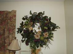 Cream Rose Wreath