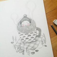 Hot tub time ♡ with coffee  따끈한 물에 몸을 푹 ~ 담그고 싶은 그런 날 ♡  #illustrations #drawing #doodle #handdrawing #dailydrawing #girl #sketch #pencil #jjlynn #jjlynndesign #pencildrawing #coffee #hottub #coffeeholic #ilovecoffee #제이제이린 #손그림일러스트 #연필일러스트 #일러스트레이션 #손그림 #연필 #소녀 #드로잉 #커피 #커피홀릭 #커피사랑 #커피일러스트 #일러스트 #스케치 #데일리드로잉