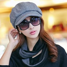 Find More Newsboy Caps Information about 2016 Spring and Autumn Fashion Boina Hats for Women Newsboy Caps Plaid Beret Cap Dipper Hat 3 Colors Chapeu,High Quality hat carnival,China cap 100 Suppliers, Cheap cap crimper from Bys Store Store on Aliexpress.com