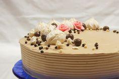 Menina Framboesa: o bolo de aniversário da mãe |  mum's birthday cake