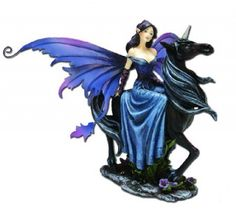 Black Unicorn - Fairies, Figurines, Nemesis Now, Fantasy, Unicorns