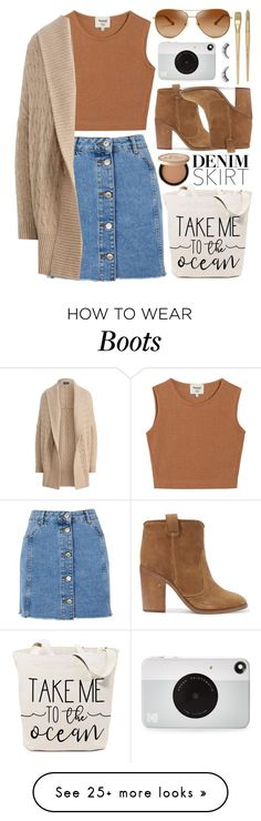 """""""#750 Krummholz"""" by mayblooms on Polyvore featuring Topshop, Samuji, Polo Ralph Lauren, Laurence Dacade, Tory Burch, Kodak, Too Faced Cosmetics and denimskirts"""